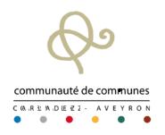 """Résultat de recherche d'images pour """"logo communauté de communes du carladez"""""""