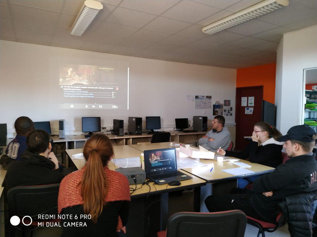 Atelier Mobilité - Trait d'union - Mur-de-Barrez - Janvier 2020